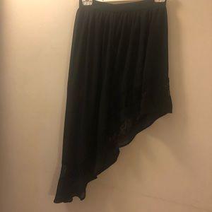 Forever 21 Black Dressy Skirt
